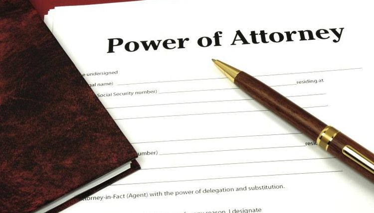 estate planning plan checklist power of attorney letter